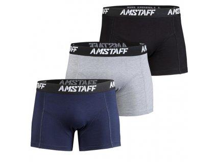 Amstaff boxerky 3 ks v balení
