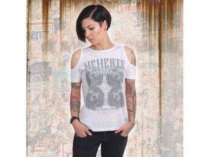 Yakuza MEMENTO MORI dámske tričko GSB 14153 white