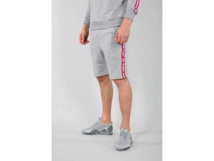Alpha Industries RBF TAPE JOGGER Short pánske šortky grey