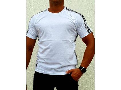 Alpha Industries AI TAPE T white tričko pánske