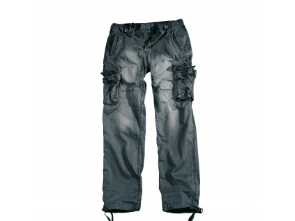 Alpha Industries cargo nohavice Tough greyblack