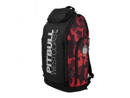 PitBull West Coast ruksak AIRWAY veľký športový Black Red