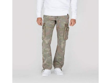 Alpha Industries cargo nohavice Tough C woodl.camo