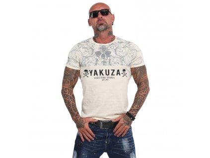 Yakuza ORNAMENTIC SKULL tričko pánske TSB 14054 afterglow