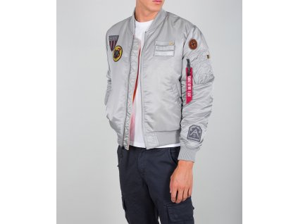 Alpha Industries MA-1 Air Force zimná bunda silver