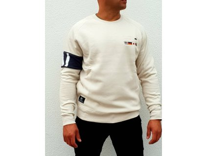 Alpha Industries STP Sweater vintage white