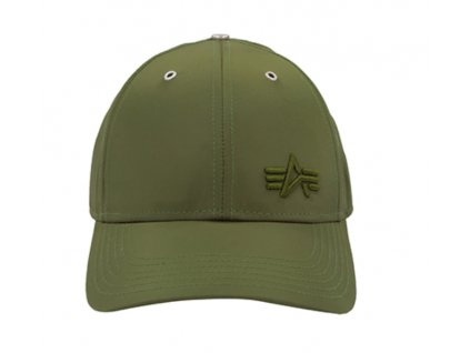 Alpha Industries Small Logo Flight Cap šiltovka dark green