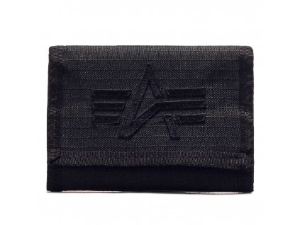 Alpha Industries ALPHA Wallet Black peňaženka