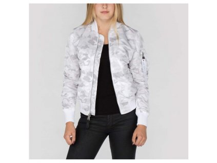 Alpha Industries MA-1 VF LW Wmn dámska bunda whitecamo