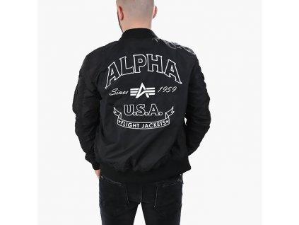 Alpha Industries MA-1 TT Patch SF bunda black
