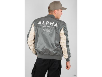 Alpha Industries MAvyrp12 8833Alpha Industries MA 1 TT Custom bunda panska vintage green a