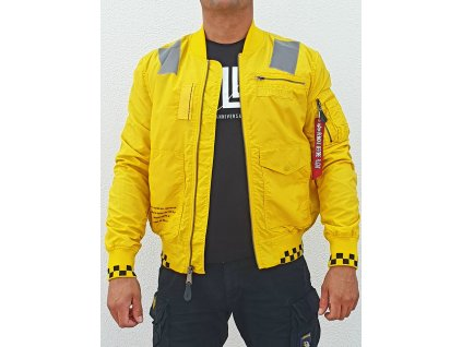 Alpha Industries Shooter Jacket bunda pánska empire yellow
