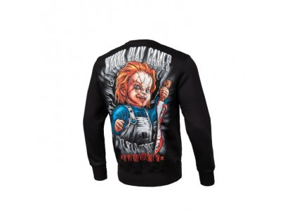Pitbull West Coast mikina CHUCKY crewneck black