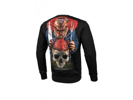 Pitbull West Coast mikina TERROR BRAIN 19 crewneck black