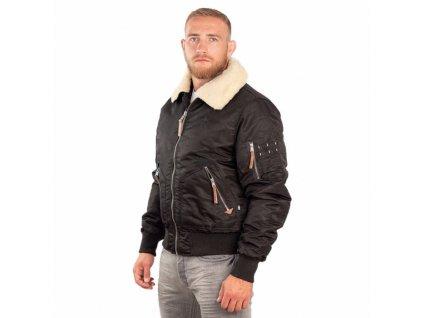 PitBull West Coast HARWOOD black zimná bunda pánska