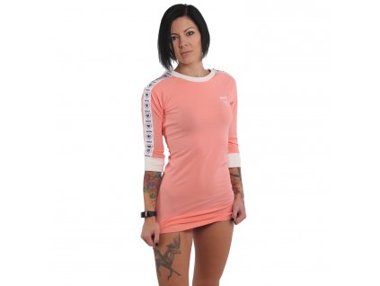 Yakuza dámske šaty 893LOVE BODYCON DRESS GKB 15131 shell pink