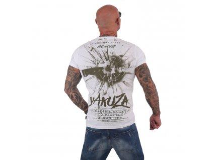 Yakuza DESTROY A MONSTER tričko pánske TSB 15023 white