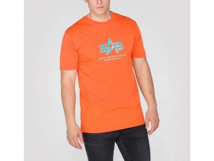 Alpha Industries Basic T-Shirt Orange tričko pánske