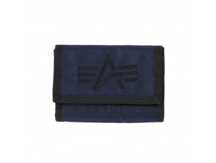 Alpha Industries ALPHA Wallet Rep Blue peňaženka