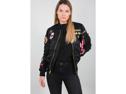 Alpha Industries MA 1 Custom Wmn dámska bunda black