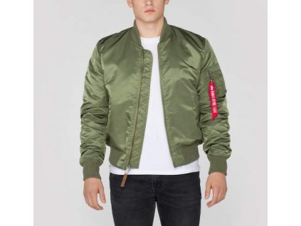 Alpha Industries MA-1 VF 59 Sage Green bunda pánska