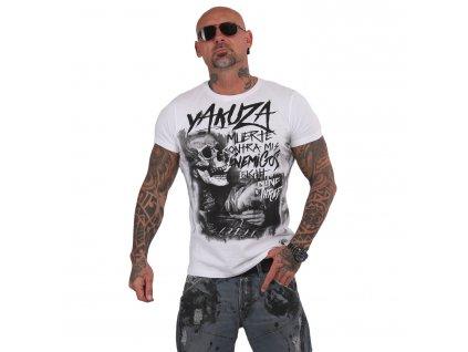 Yakuza MUERTE tričko pánske TSB 15036 white