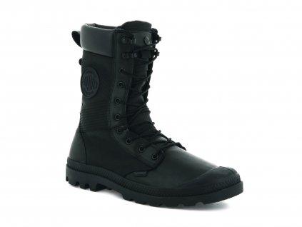 Palladium módne topánky TACTICAL OPS WATERPROOF BLACK