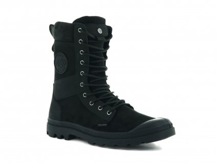 Palladium módne topánky TACTICAL OFF LEATHER WATERPROOF BLACK