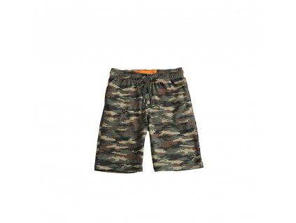 Alpha Industries X-Fit Short pánske šortky woodl camo