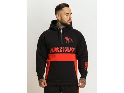 Amstaf mikina JEBISU half-zip black