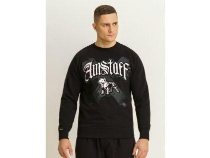 Amstaff CALLI Sweater Black mikina pánska