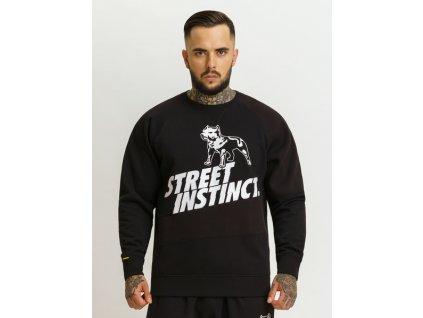 Amstaff SERPE Sweater Black mikina pánska Amstaff mikina pánska