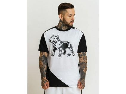 Amstaff tričko FLORIS white