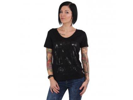 Yakuza dámske tričko CONTRA V NeckGSB 15116 black