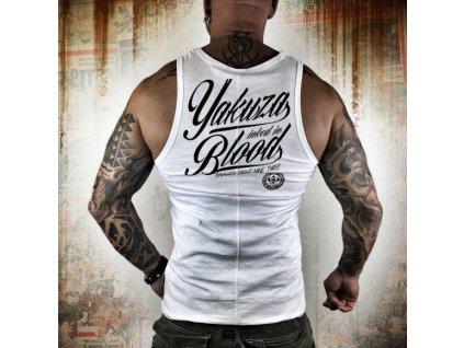 Yakuza tielko pánske Inked In Blood UHB 8048 white