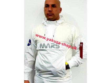 Alpha Industries Mars Mission Anorak bunda pánska white
