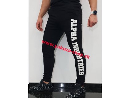 Alpha Industries Big Letter Jogger tepláky black