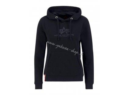 Alpha Industries Rainbow Sweater Wmn pastel mint mikina dámska e