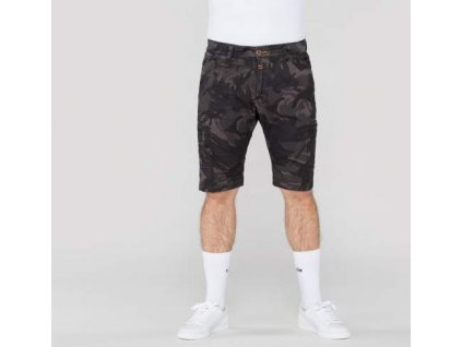 Alpha Industries Deck Short Camouflage black camo