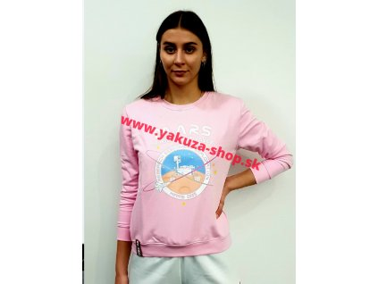 Alpha Industries Mission To Mars Sweater Wmn neon pink