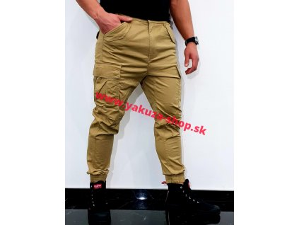 Alpha Industries nohavice Airman Vintage Pant sand