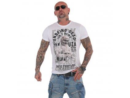 Yakuza UNBEING tričko pánske TSB 15021 white