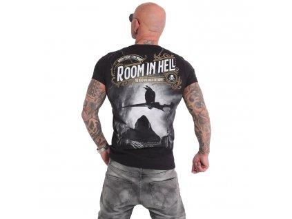 Yakuza ROOM IS HELL tričko pánske TSB 15031 black