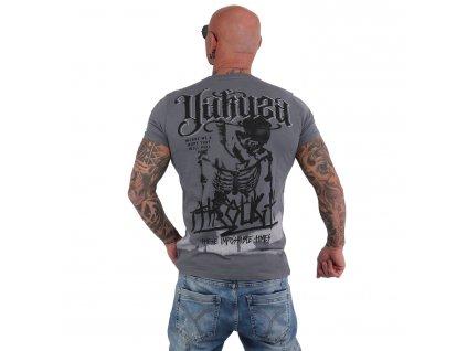 Yakuza THROUGH BONES DYE tričko pánske TSB 15022 monument