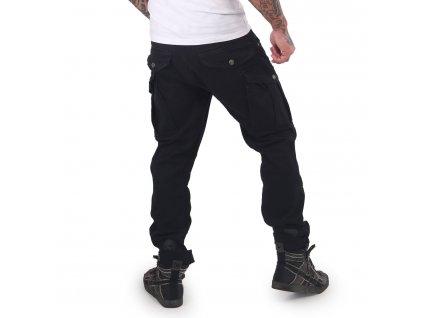 Yakuza pánske cargo nohavice CORE CARGO PANTS CPB 15010 black