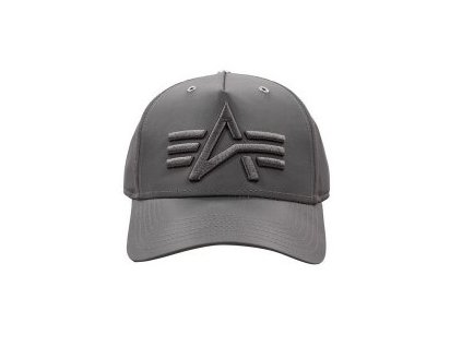 Alpha Industries Flight Cap šiltovka rep grey