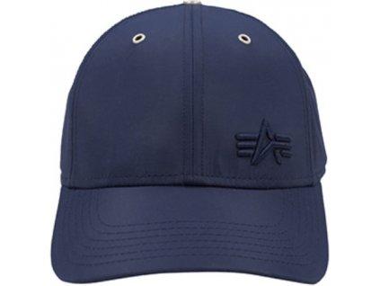 Alpha Industries Small logo Flight Cap šiltovka rep blue b