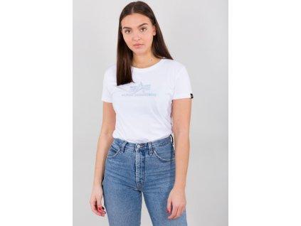 Alpha Industries RAINBOW T Wmn white dámske tričko e