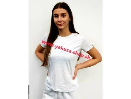 Alpha Industries RAINBOW T Wmn white dámske tričko