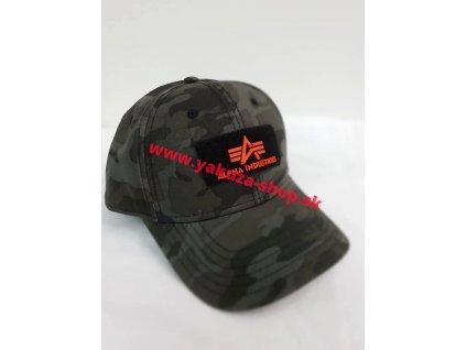 Alpha Industries VLC ll Cap šiltovka black camo
